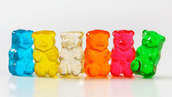 Gummy Bears are Delicious!